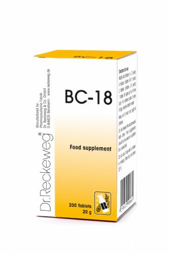 Schuessler BC18 combination cell salt - tissue salt
